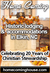 Welcome to Home Coming in Elkin, NC